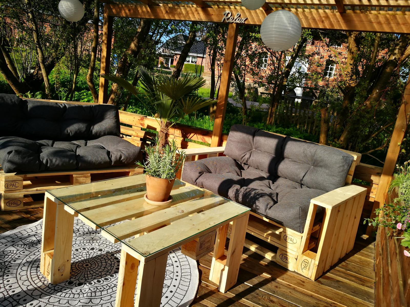 Palettenkissen Outdoor