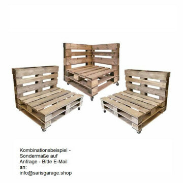Paletten Outdoor Lounge