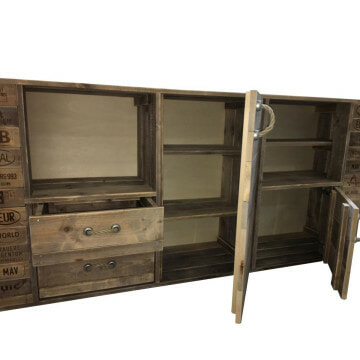 Highboard Palettenhol